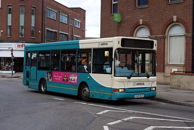 2132-V425 DGT at Leicester Town Centre.