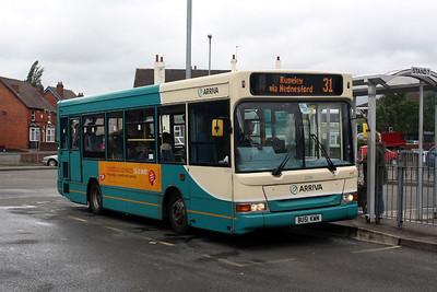 2290-BU51 KWN at Cannock Bus Station.