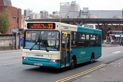 2287-V207 KDA at Walsall Town centre.