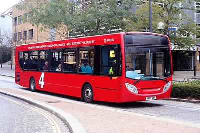 3570-KX09 GYY at Milton Keynes.