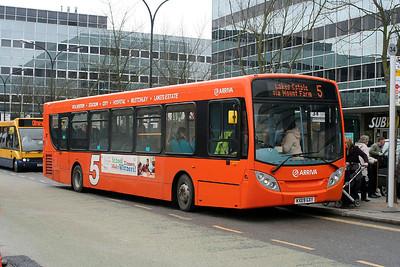 3578-KX09 GXY at Milton Keynes.