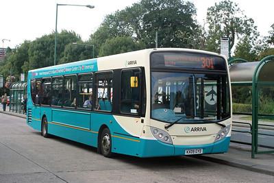 3554-KX09 GYD at Hemel Hempstead.
