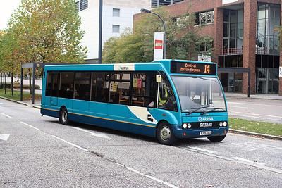 2447-YJ05 JXU in Milton Keynes