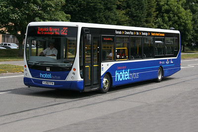 VDL Bus SB180 YJ58 FFN at Lowfield Heath, Gatwick