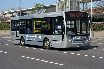 ADL Enviro 200 KX59 CZN at Heathrow Central