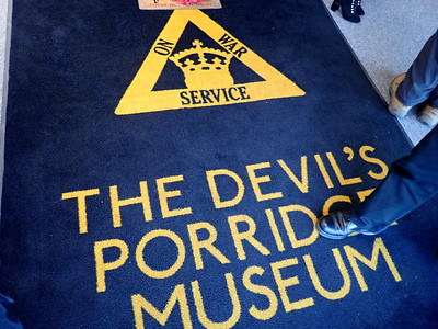 A seak-peak at the Devils Porridge Museum