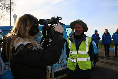 Local TV and ITV are keen to see Brian!