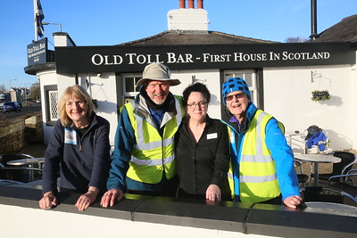 The Old Toll Bar makes us very welcome!!