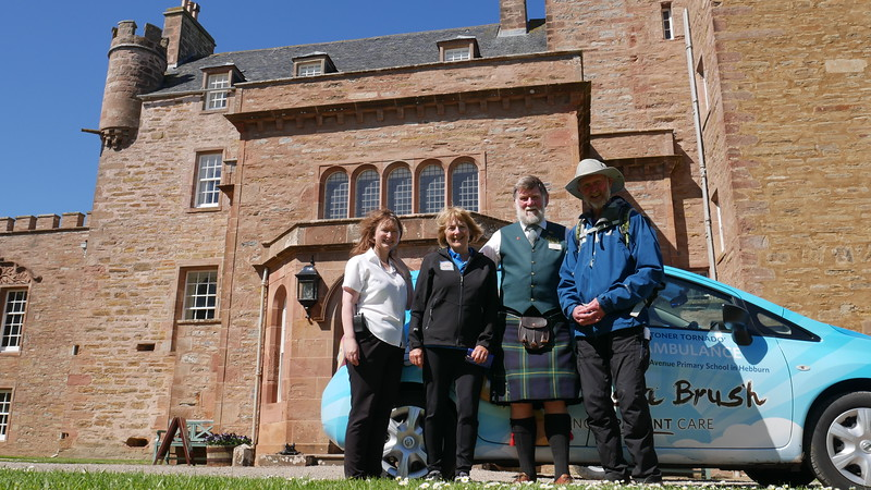 Brian at Castle Mey