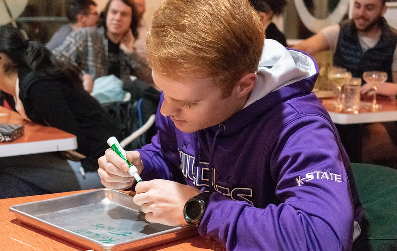 Arrow Coffee Co. hosts trivia nights every Thursday at 7 o'clock. This has taken place for over three years and often has a theme such as The Office, Parks and Recreation, and Seinfeld. (Brooke Barrett | Collegian Media Group)