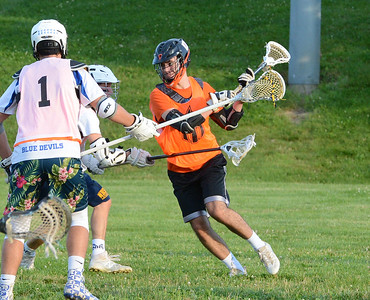 Max Jackman (86) scores for Pennsbury.