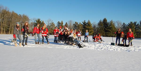 Fun in the snow Photos by Coach Siergie