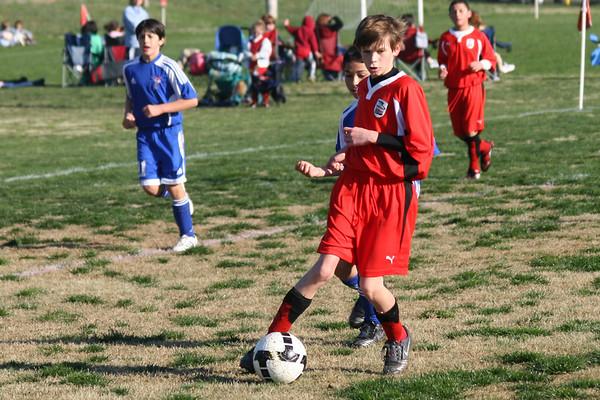 U-12 Spring Season 2009/ Tanner's Team