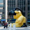 Urs Fischer, Lamp/Bear, Park Avenue 2011