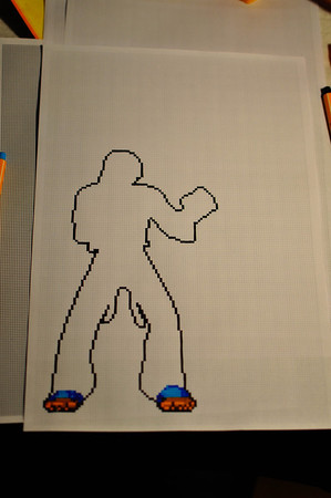 Mission 02 - Tekken Paper Art