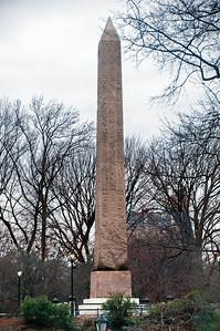 Cleopatra's Needle, Central Park
