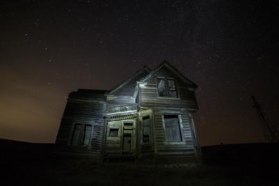 Emerson House just outside of Dufur, Oregon