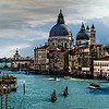 Santa Maria della Salute from the Accademia Bridge