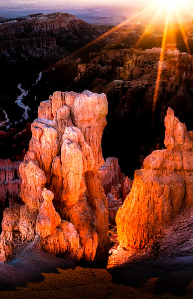 Inspiration Point at Sunrise, Bryce Canyon