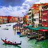 Grand Canal from Rialto Bridge (painting)