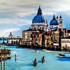 Santa Maria della Salute from the Accademia Bridge (painting)