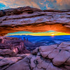 Sunrise at Mesa Arch, UT