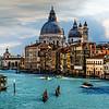 Santa Maria della Salute from the Accademia Bridge