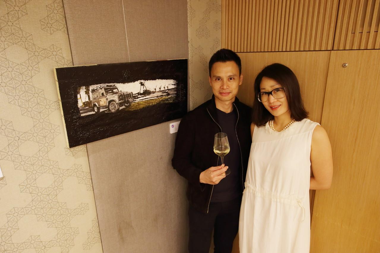 Artists Steven Loh and Sunny Chyun