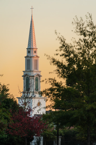 Sunset Steeple.