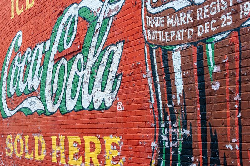 Coca Cola Sold Here.