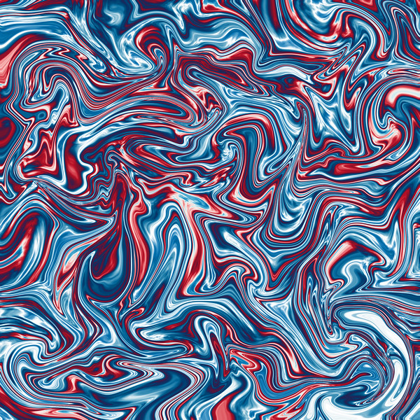 Abstract colorful metallic fluid waves background