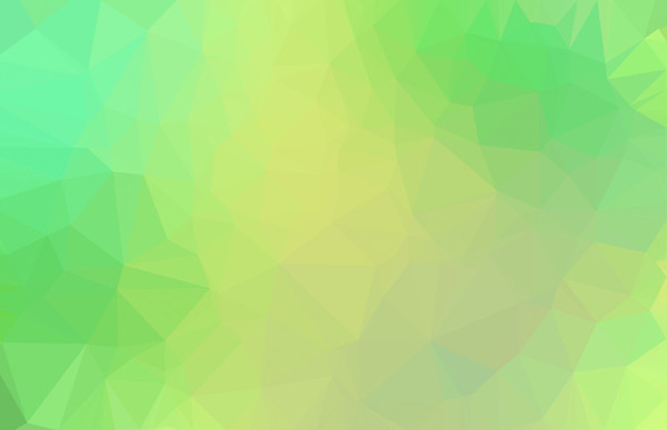 Abstract green colored low poly background