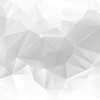 Abstract light gray low poly background