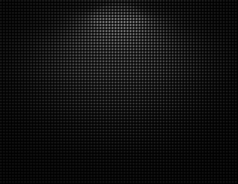 Small dark gray squares on black