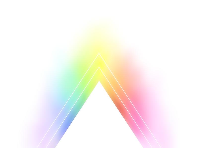 Rainbow triangle