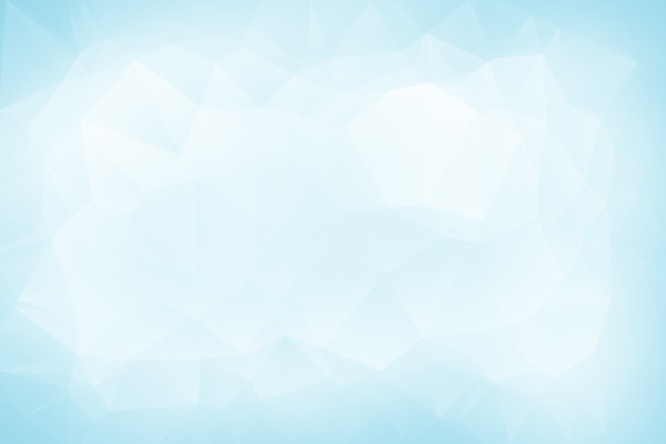Abstract light turquoise low poly background