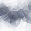 Abstract gray low poly background