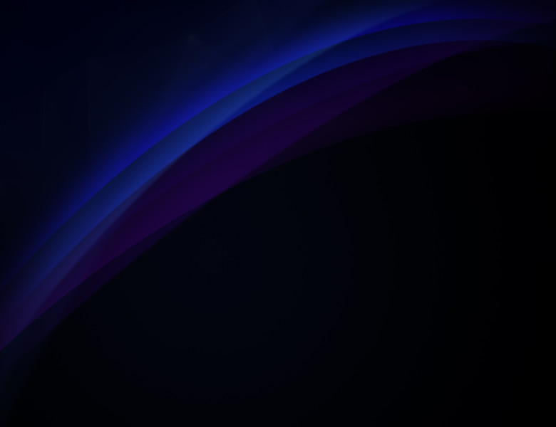 Curvy and blurred purple and blue lines