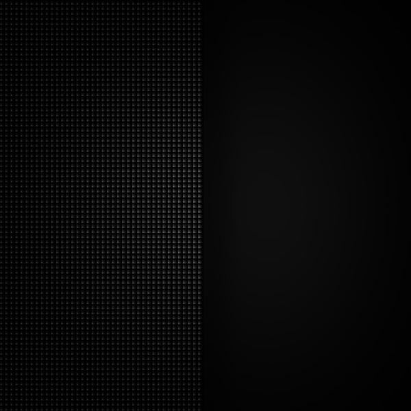 Small dark gray squares on black