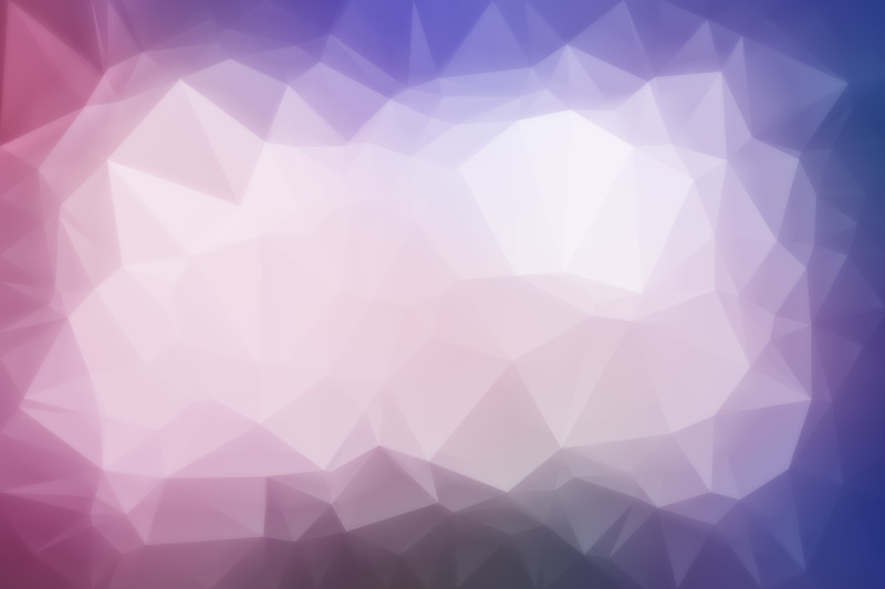 Abstract colorful low poly background