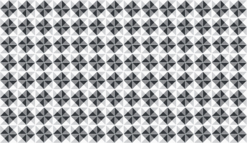 Abstract gray halftone pattern