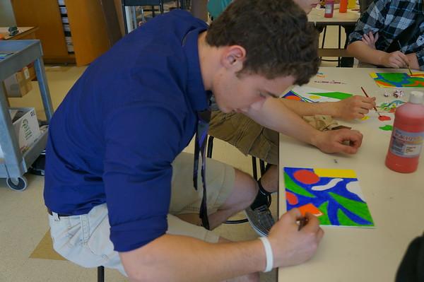 Art Class - April 2013