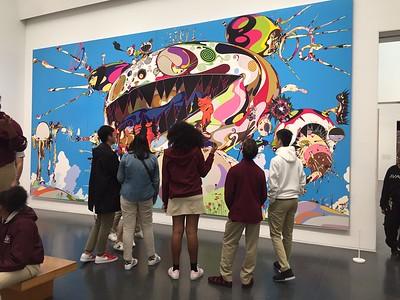 Art Classes Visit Museum of Contemporary Art