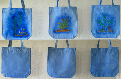 Canvas Bags, Panted