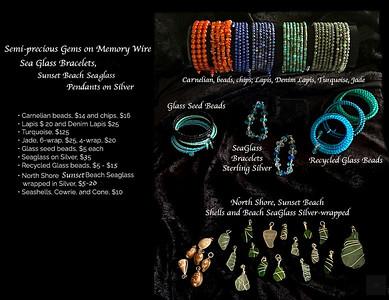 Jewelry, bracelets, pendants 12 4 20b