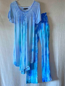 Tie-Dyed Tunic/short dress and pants