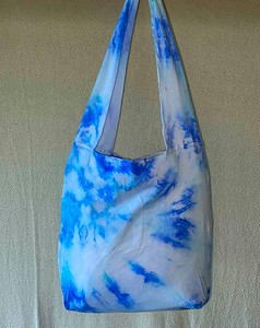 Tie-dyed hand bag