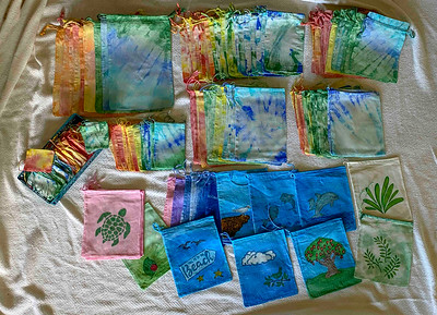Small Tie dyed bags