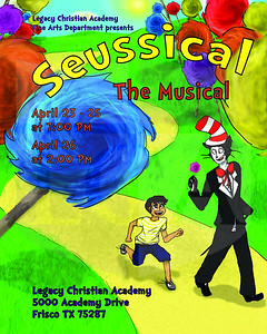 Jordan Gosnell (10), Seussical Program, Digital Design