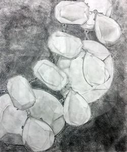 Riley Taguwa (11), Jewelry, Graphite on Paper